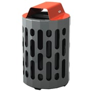 Frost 42-Gal Stingray Waste Receptacle; Red