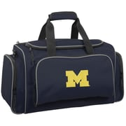 Wally Bags NCAA Collegiate 21'' Gym Duffel; Michigan Wolverines