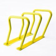 Frost 6 Bike Freestanding Bike Rack; Yellow by