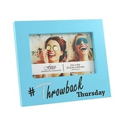 Fetco Home Decor Expressions Wisona Throwback Thursday with Gems Picture Frame