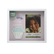 Fetco Home Decor Expressions Gilly Cupcake Expressions Shadowbox Picture Frame