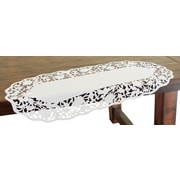 Xia Home Fashions Somerset Embroidered Cutwork Mini Table Runner