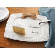 Mud Pie  Happy Platter
