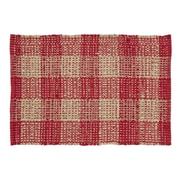 VHC Brands Breckenridge Red/Beige Area Rug; 2'3'' x 4'