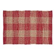 VHC Brands Breckenridge Red/Beige Area Rug; 1'8'' x 2'6''