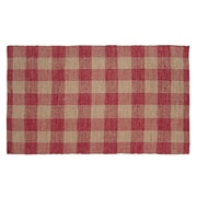 VHC Brands Breckenridge Red/Tan Area Rug; 8' x 11'