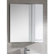 Fine Fixtures Atwood 35'' x 32'' Surface Mount Flat Medicine Cabinet; White