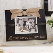 Mud Pie  All My Love, All My Life Picture Frame