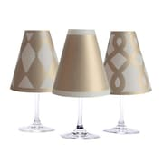 di Potter Vienna 6 Piece Wine Shade Set