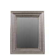 "Urban Trends Metal Mirror, 28"" x 2"" x 35.5"", Silver (26600)"