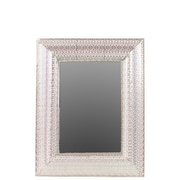 "Urban Trends Metal Mirror, 28"" x 2"" x 35.5"", Silver (26601)"