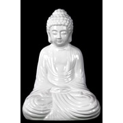 "Urban Trends Ceramic Figurine, 9""L x 6""W x 12.5""H, White (28566)"