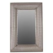 "Urban Trends Metal Mirror, 27.5"" x 1.75"" x 49.75"", Silver (94123)"