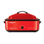 Nesco Porcelain Cookwell, 18qt, Metallic Red (4818-22)