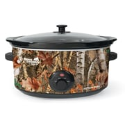 Nesco 8qt Slow Cooker, Camouflage Woodland Birch Outdoor Pattern (SC-8017)