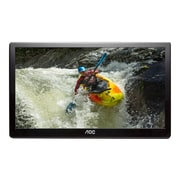 "AOC E1659FWUX-PRO 15.6"" 1080p Full HD LED-Backlit LCD Monitor, Glossy Black"