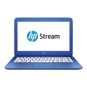 "HP P3U33UA#ABA Stream 13-c110nr 13"" Notebook, 13.3"" HD Display, Intel Celeron N3050, 32GB SSD, 2GB RAM, Windows, Blue"