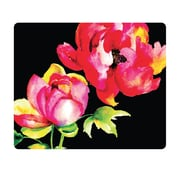 OTM Prints Black Mouse Pad, Brilliant Bloom