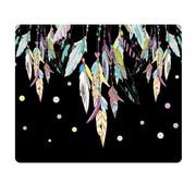 OTM Prints Black Mouse Pad, Dream Catcher Color