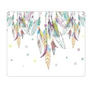 OTM Prints White Mouse Pad, Dream Catcher Color