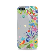 OTM Essentials Floral Prints Phone Case for Use with iPhone 5/5S, Springtime, Clear (IP5V1CLR-FLR-01)