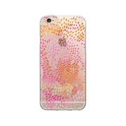 OTM Essentials Artist Prints Phone Case for Use with iPhone 6/6S Plus, Petals Warm, Clear (OP-IP6PV1CLR-ART01-2)