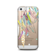OTM Essentials Hipster Prints Clear Phone Case for iPhone 5/5s, Dream Catcher Color (IP5V1CLR-HIP-09)