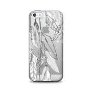 OTM Essentials Hipster Prints Phone Case for Use with iPhone 5/5S, Dream Catcher Grey, Clear (IP5V1CLR-HIP-10)
