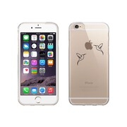OTM Essentials Iconic Prints Clear Phone Case for iPhone 5/5s, Hummingbirds (IP5V1CLR-ICN-03)