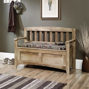 East Canyon Storage Bench, Craftsman Oak