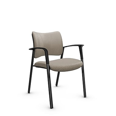 Global Zoma Designer Armchair, Match Fabric