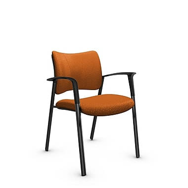 Global Zoma Designer – Fauteuil, tissu assorti orange, orange