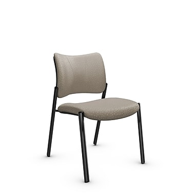 Global Zoma Designer Side Chair, Match, Desert Fabric, Tan