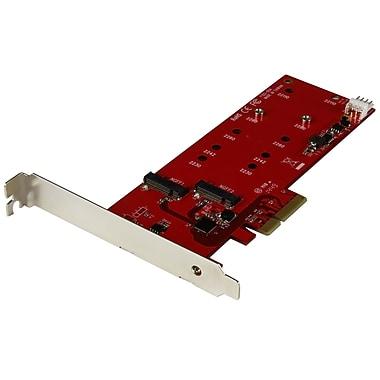 StarTech.com – Carte contrôleur pour 2 SSD M.2, PCIe