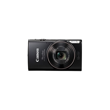 Canon PowerShot ELPH360 HS Digital Camera, 20.2 MP, 12x Optical Zoom, Black
