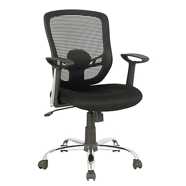 Tygerclaw Air Grid Mid Back Office Chair, 23.6