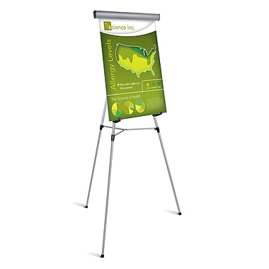 MasterVision 3-Leg Heavy-Duty Telescoping Display Easel, 38
