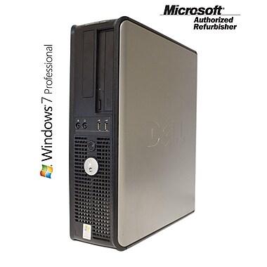 Dell Optiplex (740) Refurbished Desktop, AMD Athlon 64 X2 Dual-core, 4GB RAM, 250GB HDD, Windows 7 Pro 64-bit English