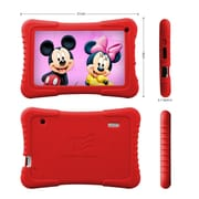 """Tablet Express M7 KIDS RD 7"""" Quad Core Android IPS Kids Tablet, Red"""