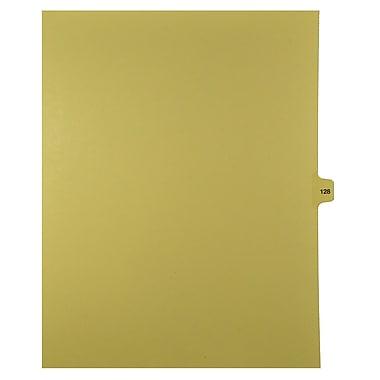 Mark Maker – Onglets séparateurs juridiques beiges, 1/15 onglets, format lettre, sans trous, numéro 128, 25/paquet