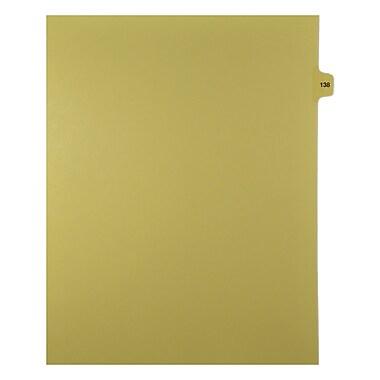 Mark Maker – Onglets séparateurs juridiques beiges, 1/15 onglets, format lettre, sans trous, numéro 138, 25/paquet