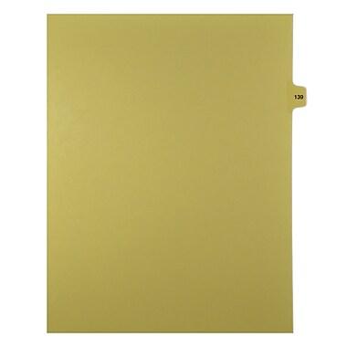 Mark Maker – Onglets séparateurs juridiques beiges, 1/15 onglets, format lettre, sans trous, numéro 139, 25/paquet