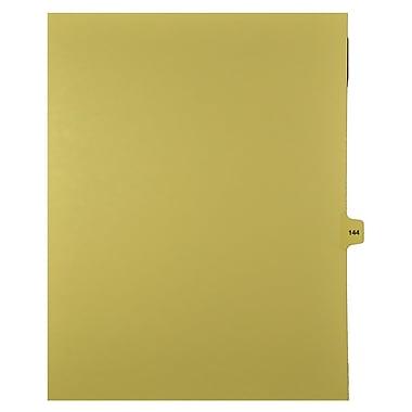 Mark Maker – Onglets séparateurs juridiques beiges, 1/15 onglets, format lettre, sans trous, numéro 144, 25/paquet