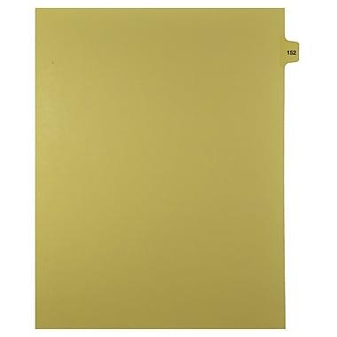 Mark Maker – Onglets séparateurs juridiques beiges, 1/15 onglets, format lettre, sans trous, numéro 152, 25/paquet