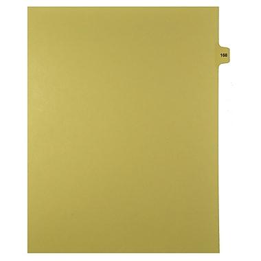 Mark Maker – Onglets séparateurs juridiques beiges, 1/15 onglets, format lettre, sans trous, numéro 168, 25/paquet