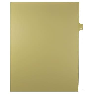 Mark Maker – Onglets séparateurs juridiques beiges, 1/25 onglets, format lettre, sans trous, numéro 157, 25/paquet