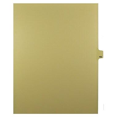 Mark Maker – Onglets séparateurs juridiques beiges, 1/25 onglets, format lettre, sans trous, numéro 162, 25/paquet