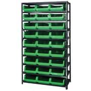 Quantum Shelf Giant Open Hopper Magnum Storage Unit (Complete Package); Green