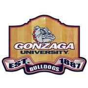 Wincraft NCAA University of Gonzaga Graphic Art Plaque