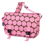 Wildkin Big Dots Jumpstart Messenger Bag; Pink